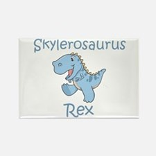 Skylerosaurus Rex Rectangle Magnet