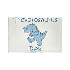 Trevorosaurus Rex Rectangle Magnet