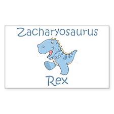 Zacharyosaurus Rex Rectangle Decal