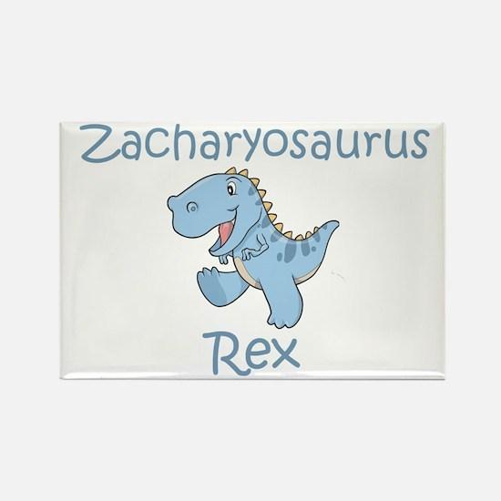 Zacharyosaurus Rex Rectangle Magnet