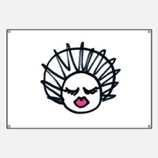 Afro Puff Banner