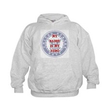 Daddy Hero Red, White & Blue Hoodie