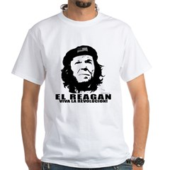 El Reagan Viva Revolucion White T-Shirt