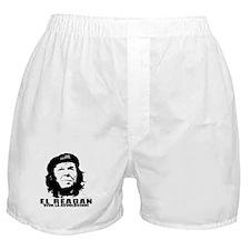 El Reagan Viva Revolucion Boxer Shorts