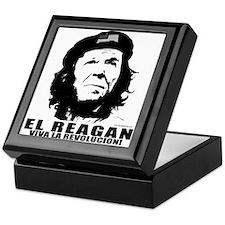 El Reagan Viva Revolucion Keepsake Box