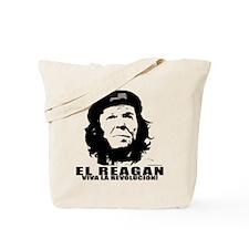 El Reagan Viva Revolucion Tote Bag