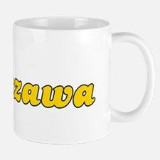 Retro Warszawa (Gold) Mug
