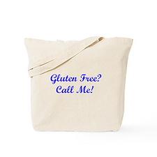 Gluten Free? Call Me! Tote Bag