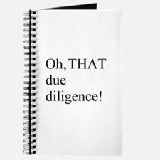 Due Diligence Journal