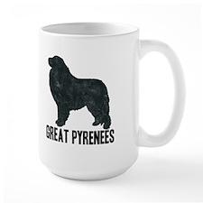 Retro Great Pyrenees Mug