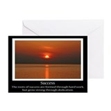 Success sunset Greeting Cards (20 Pack)