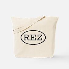 REZ Oval Tote Bag