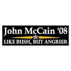 John McCain: Like Bush, But Angrier