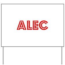 Retro Alec (Red) Yard Sign