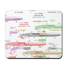 Fountain pen Mousepad