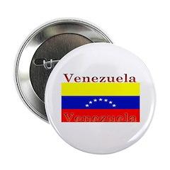 Venezuela Venezuelan Flag Button