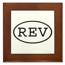 REV Oval Framed Tile