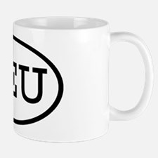 REU Oval Mug