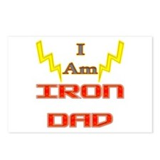 I am IronDad Postcards (Package of 8)