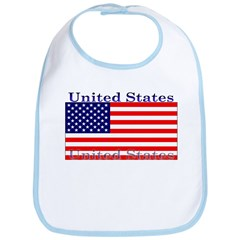USA American Flag Bib