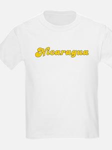 Retro Nicaragua (Gold) T-Shirt