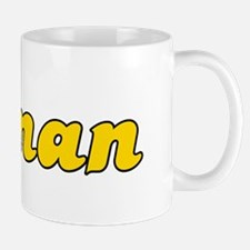 Retro Oman (Gold) Mug