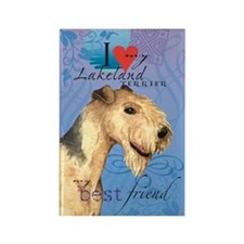 Lakeland Terrier Rectangle Magnet