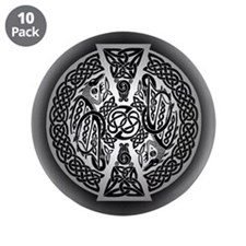 """Celtic Dragons 3.5"""" Button (10 pack)"""