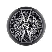 """Celtic Dragons 3.5"""" Button (100 pack)"""