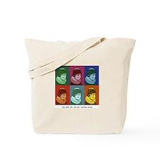 Cute Pop art Tote Bag