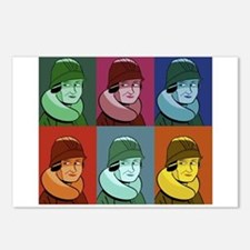 Cute Dorothy parker Postcards (Package of 8)