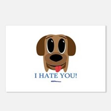 I Hate You... Postcards (Package of 8)