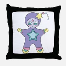 Alien QT Throw Pillow