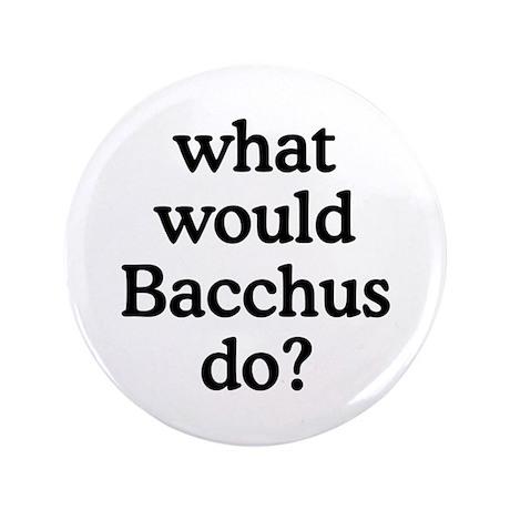 """Bacchus 3.5"""" Button"""