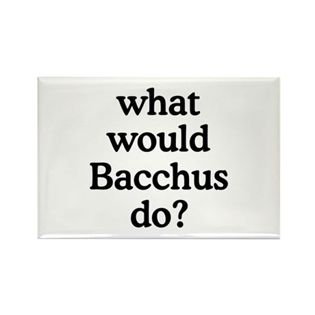 Bacchus Rectangle Magnet (100 pack)