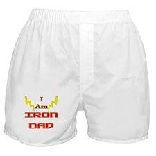 I am IronDad Boxer Shorts