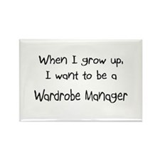 When I grow up I want to be a Wardrobe Manager Rec