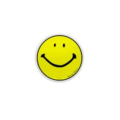 """Signature Smiley"" Mini Button (100 pack"