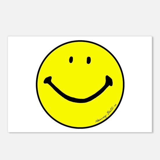 """""""Signature Smiley"""" Postcards (Package of"""
