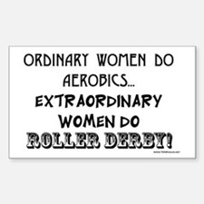 Extraordinary Women! Rectangle Decal