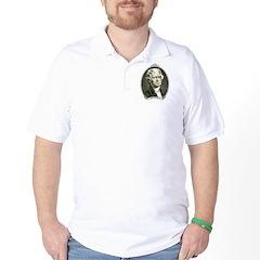 President Jefferson Golf Shirt