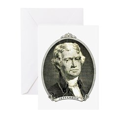 President Jefferson Greeting Cards (Pk of 20)