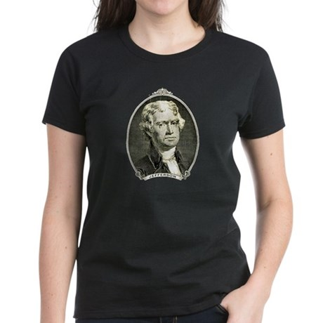 President Jefferson Women's Dark T-Shirt