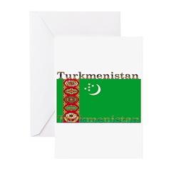 Turkmenistan Greeting Cards (Pk of 10)