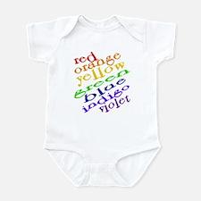 Rainbow Colors Infant Bodysuit