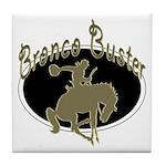 Bronco Buster Tile Coaster