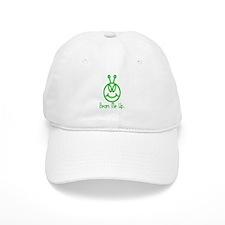 Alien Smile Beam Me Up Baseball Cap