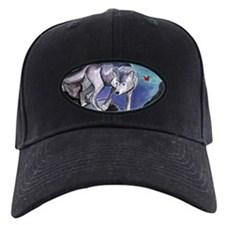 Samantha's Tarot Moon Card Wolf Baseball Hat