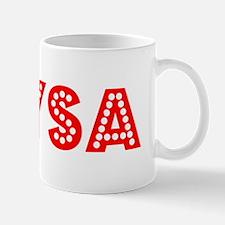 Retro Alysa (Red) Small Small Mug