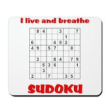 Live Sudoku Mousepad